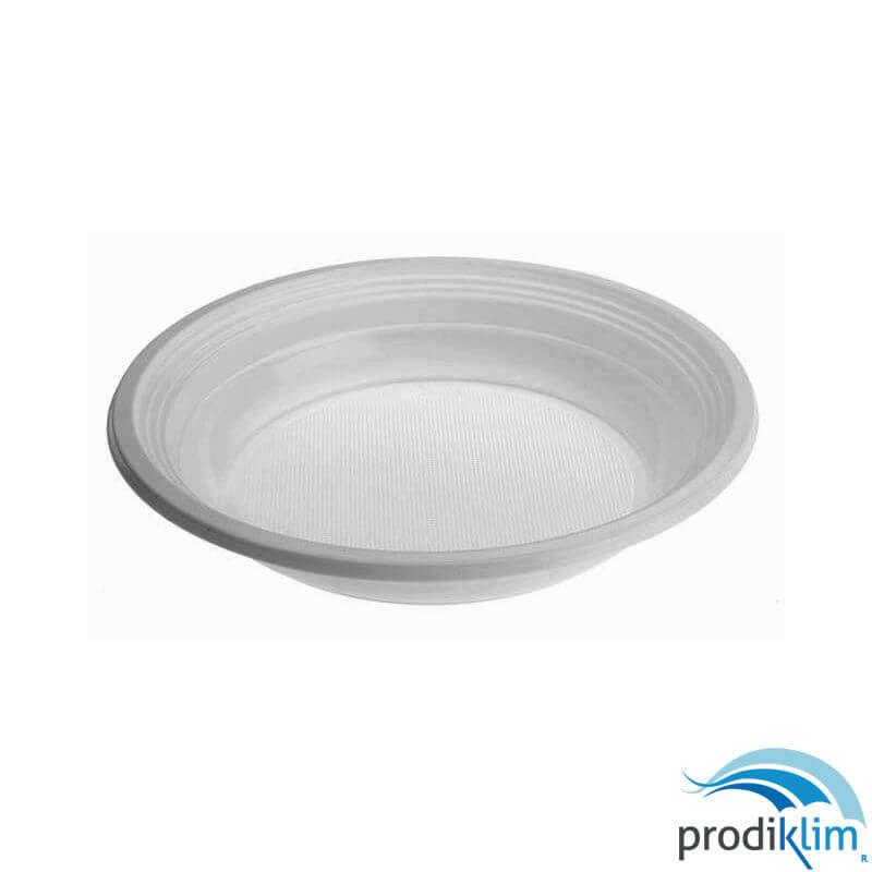 0862612-plato-hondo-20.5-cm-plastico-blanco-100-uds-prodiklim