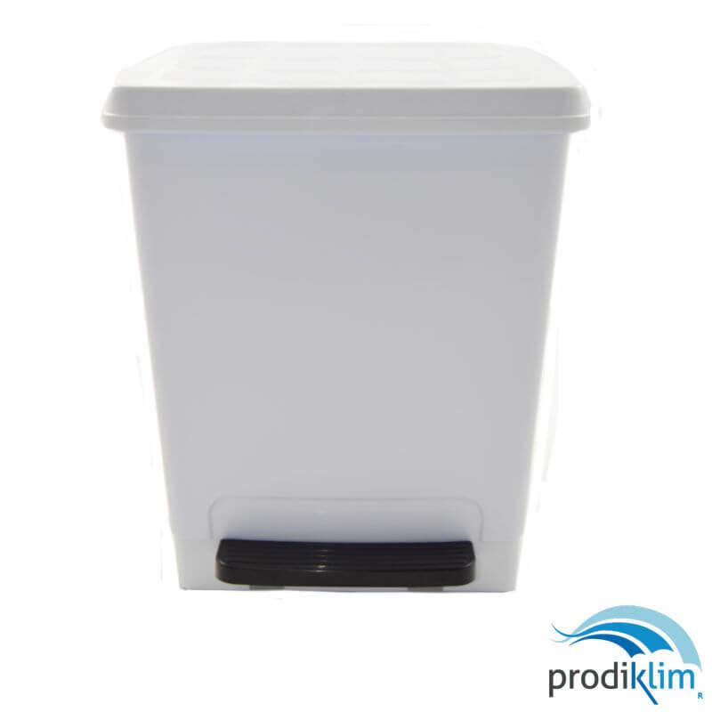 0932104-papelera-pedal-abs-blanca-26l-prodiklim