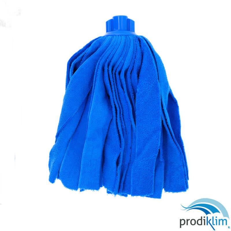 1282201-fregona-tiras-microfibra-180gr-azul-prodiklim